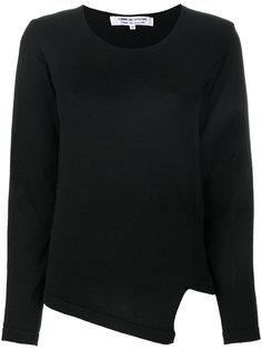 асимметричный свитер с V-образным вырезом Comme Des Garçons Comme Des Garçons