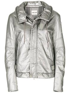 стеганая куртка с отделкой металлик  Helmut Lang