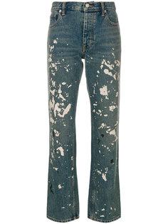 джинсы прямого кроя  Helmut Lang