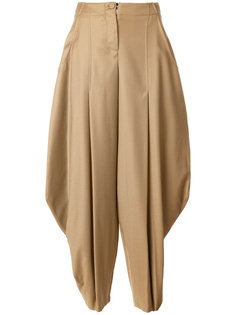 wide leg tapered trousers Ultràchic