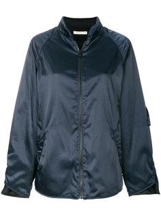 куртка-бомбер с отливом 6397