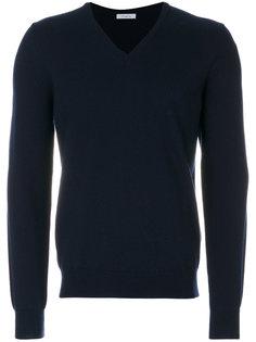 классический пуловер с V-образным вырезом Malo