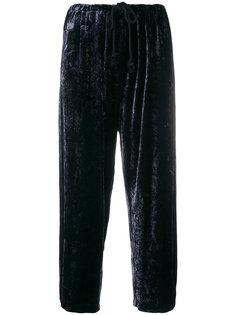 укороченные спортивные брюки со шнурком на талии Forte Forte