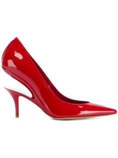 туфли с вырезной деталью Maison Margiela