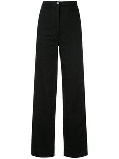 прямые брюки с завышенной талией Lemaire