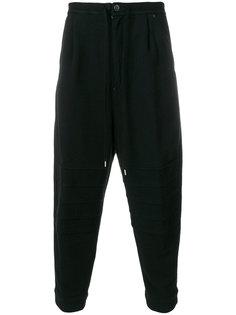 спортивные брюки с отделкой в рубчик The Viridi-Anne