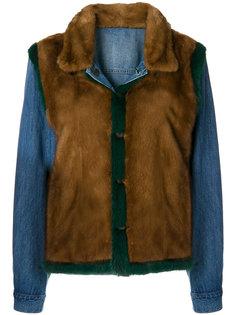 джинсовая куртка Simonetta Ravizza