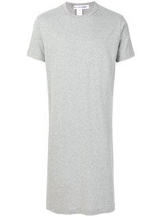 асимметричная удлиненная футболка  Comme Des Garçons Shirt