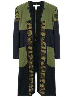 пальто с камуфляжным принтом Comme Des Garçons Shirt