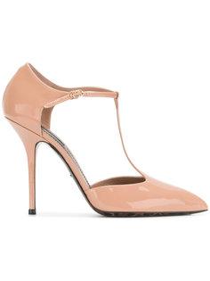 туфли на шпильке с Т-образным ремешком Dolce & Gabbana