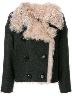 двубортная куртка из овчины Isabel Marant
