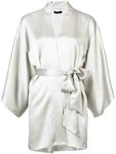 tie-waist kimono top Voz