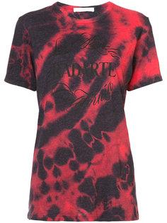 футболка с принтом тай-дай Rodarte