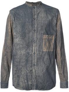 рубашка с потертой отделкой By Walid