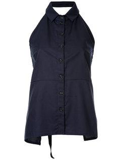 рубашка с вырезом-халтер на пуговицах  Zambesi