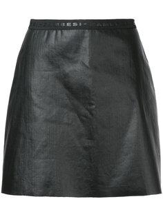 юбка мини с необработанными краями Zambesi