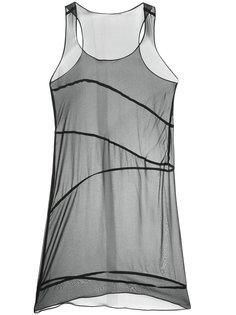 многослойное платье Zambesi