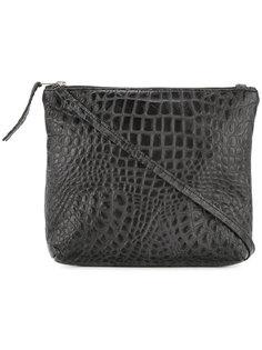 сумка через плечо с эффектом кожи крокодила Zambesi