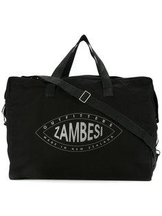дорожная сумка с принтом-логотипом Zambesi