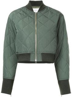 стеганая куртка-бомбер Le Ciel Bleu