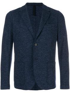 фактурный однобортный пиджак Harris Wharf London