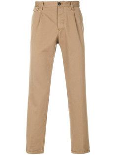 брюки прямого кроя Pt05