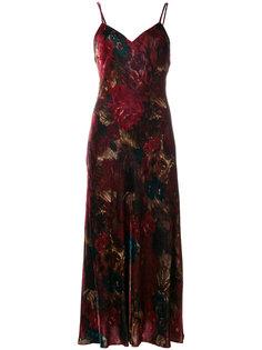 платье миди с цветочным принтом  Polo Ralph Lauren