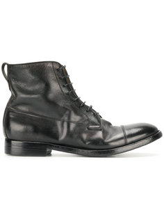 сапоги со шнуровкой Silvano Sassetti