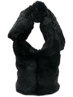 сумка-тоут из искусственного меха Simone Rocha