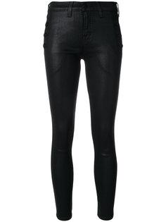 джинсы скинни с покрытием  J Brand