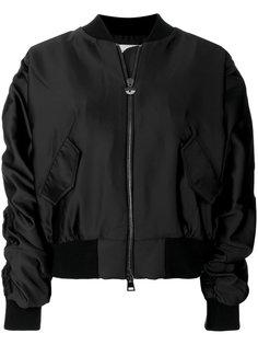 куртка-бомбер Logomania с украшением из поделочных камней Chiara Ferragni