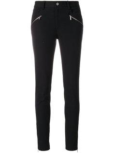 укороченные джинсы с молниями Michael Michael Kors