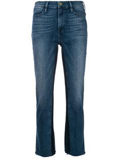 джинсы с необработанным краем  Frame Denim