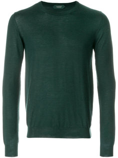 классический трикотажный свитер Zanone