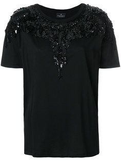 sequin embroidered T-shirt Marcelo Burlon County Of Milan