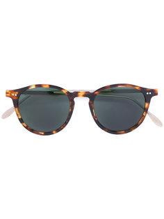 солнцезащитные очки в оправе с эффектом черепашьего панциря Pantos Paris