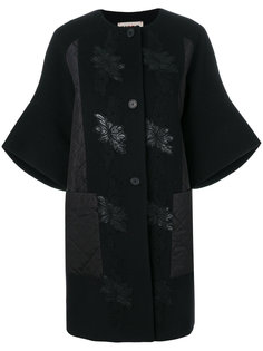 пальто с вышивкой и широкими рукавами  IM Isola Marras