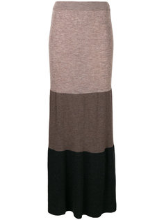 юбка в рубчик с полосками  IM Isola Marras