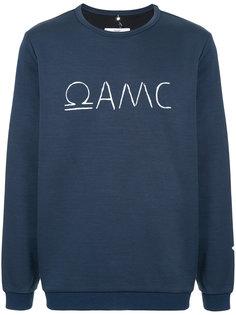 толстовка с вышитым логотипом Oamc