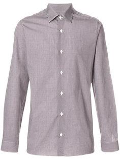 рубашка с геометрическим принтом Z Zegna
