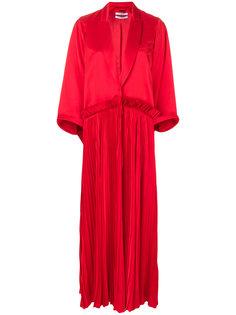 плиссированное приталенное пальто Givenchy