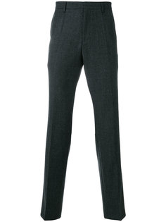фактурные брюки прямого кроя Boss Hugo Boss