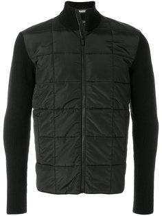 куртка с контрастными рукавами Z Zegna