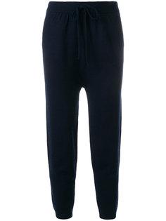 вязаные спортивные брюки T By Alexander Wang