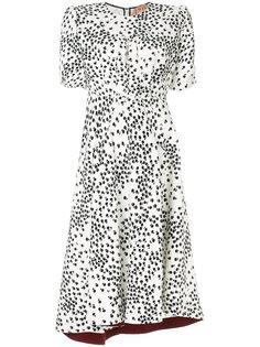 платье с абстрактным принтом  Nº21