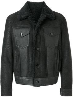 куртка с отделкой из овчины Neil Barrett