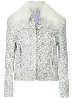 faux fur collar jacket G.V.G.V.