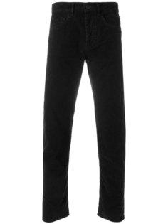 джинсы прямого кроя с потертой отделкой Pence
