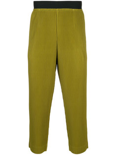 плиссирванные брюки Homme Plissé Issey Miyake