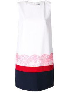 платье с контрастной отделкой  Iceberg
